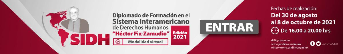 diplomado de formación en el SIDH Héctor Fix-Zamudio